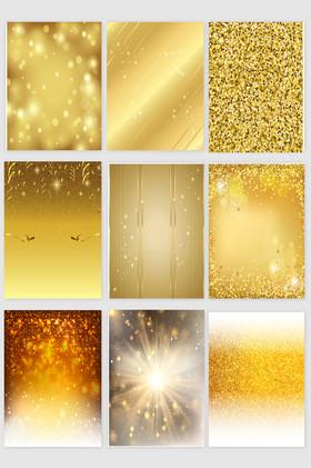 金色背景光效素材