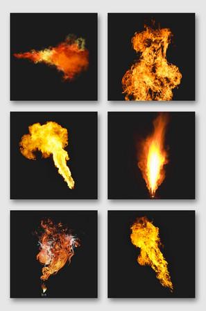 喷火效果元素png素材
