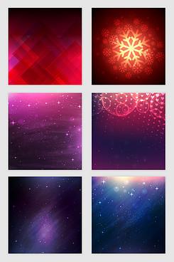 梦幻星空光效纹理矢量素材