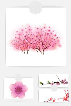 花朵花瓣裝飾素材